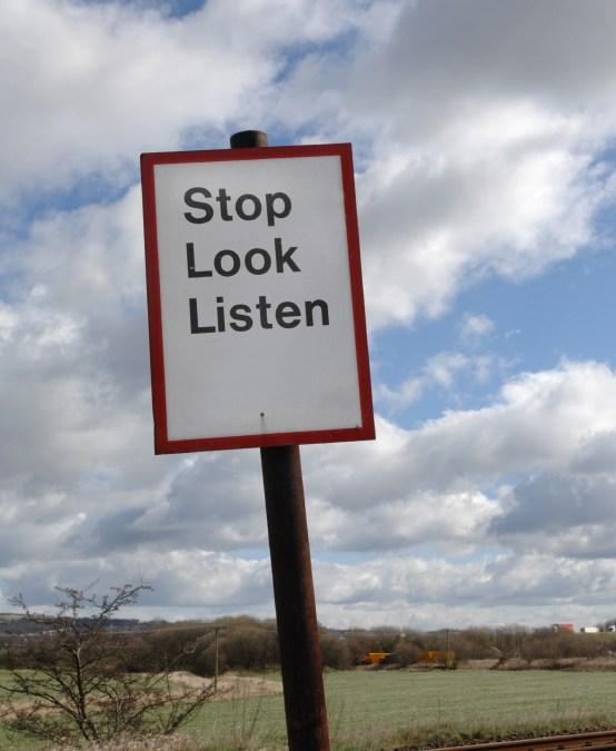 Stop, Collaborate, & Listen