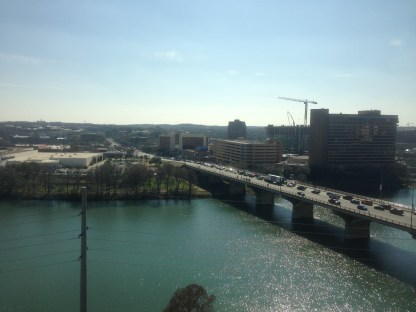 Great view of the Colorado River in Austin
