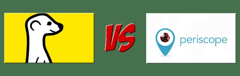 Meerkat vs. Periscope Live-Streaming Video
