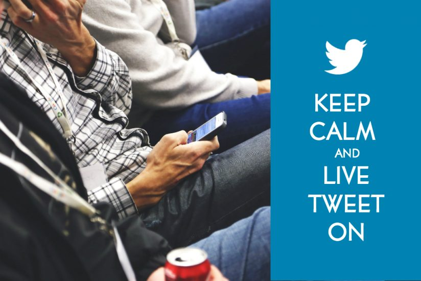To Live Tweet or Not to Live Tweet…That is the Question (but Really Shouldn't Be)