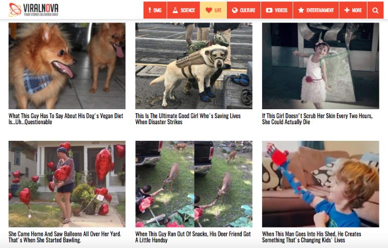 Clickbait Headline Example
