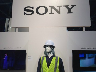 Sony's SmartEyeglass at CES 2016