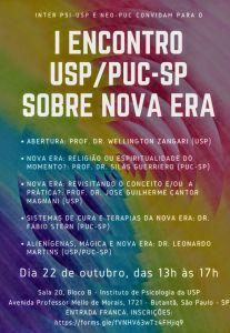 I EncontroUSP-PUC NewAge