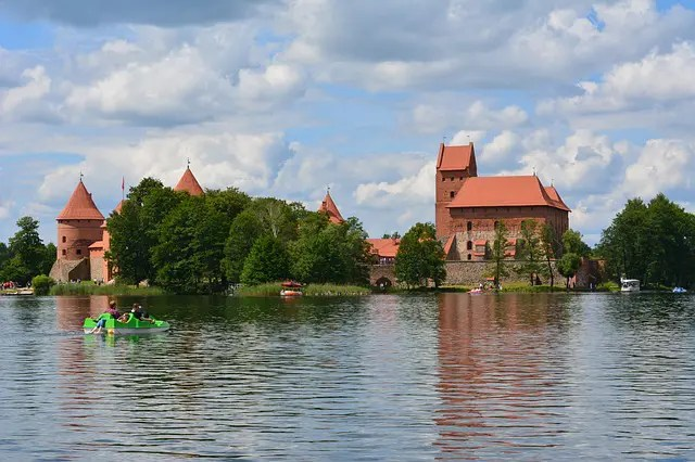 Baltic views at Trakai