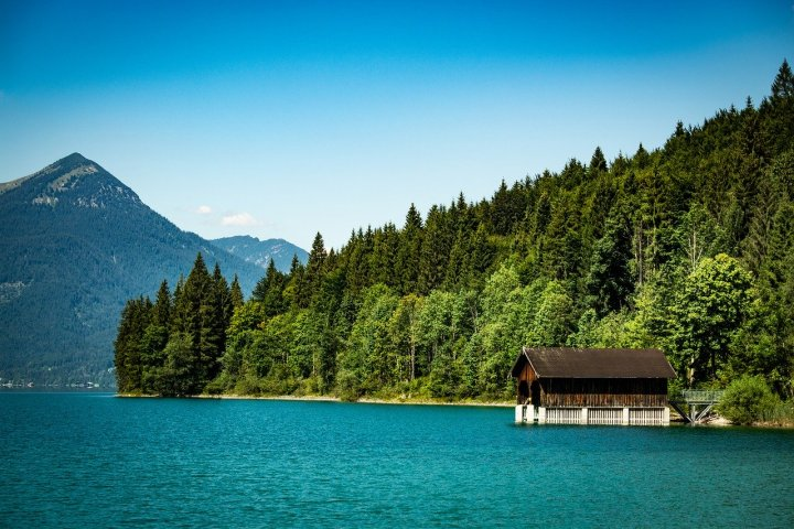 Walchensee, a perfect European lake for wild swimming