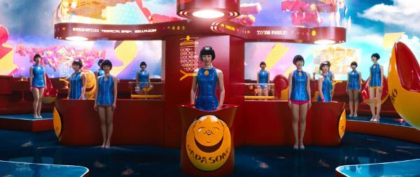 Rede de fast-food do futuro servida por clones