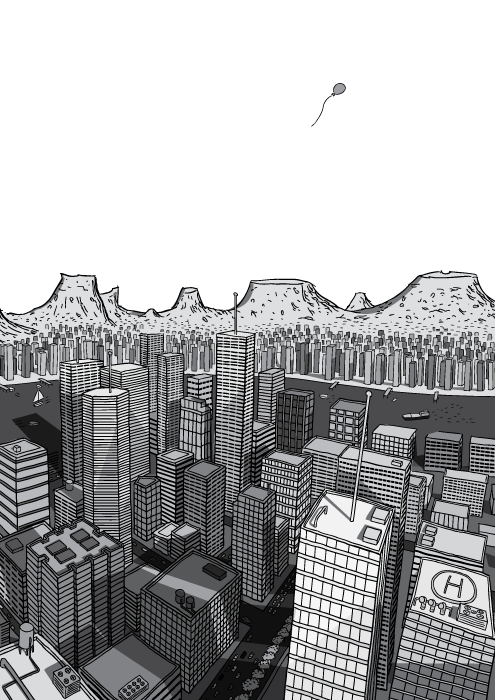 Pico do Petróleo, por Stuart McMillen #101