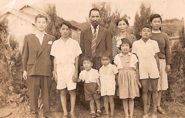 Família Tiba, Sorocaba, anos 40.