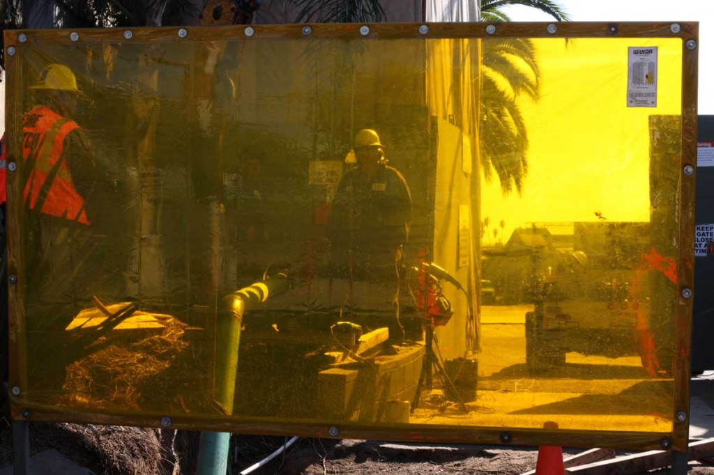 A look into the Murphy site in West Adams.   Stephanie Monte