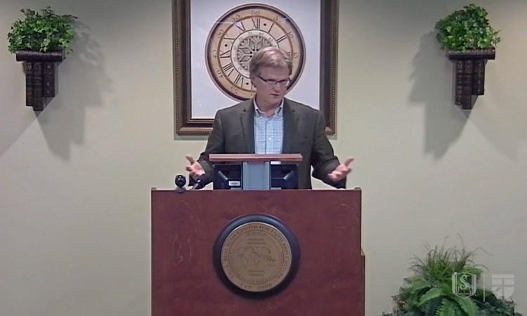 Stephen Wellum speaking on progressive covenantalism