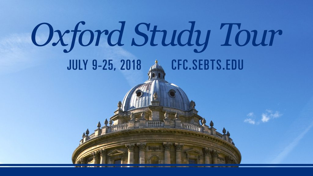 Oxford Study Tour 2018