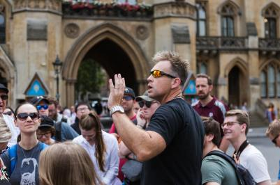 Dr. Stephen Eccher on the Oxford Study Tour