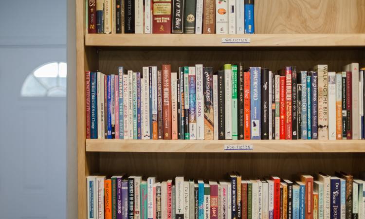 Ken Keathley: On My Bookshelf (credit: Rebecca Hankins)