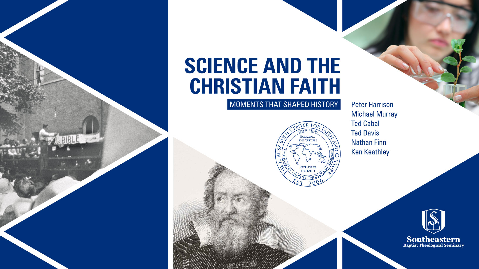 Science and the Christian Faith Conference at SEBTS