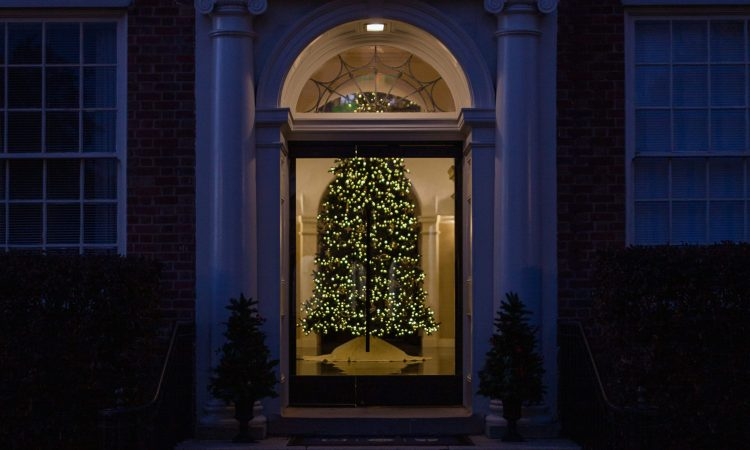 Christmas at Stealey Hall (credit: Rebecca Hankins)