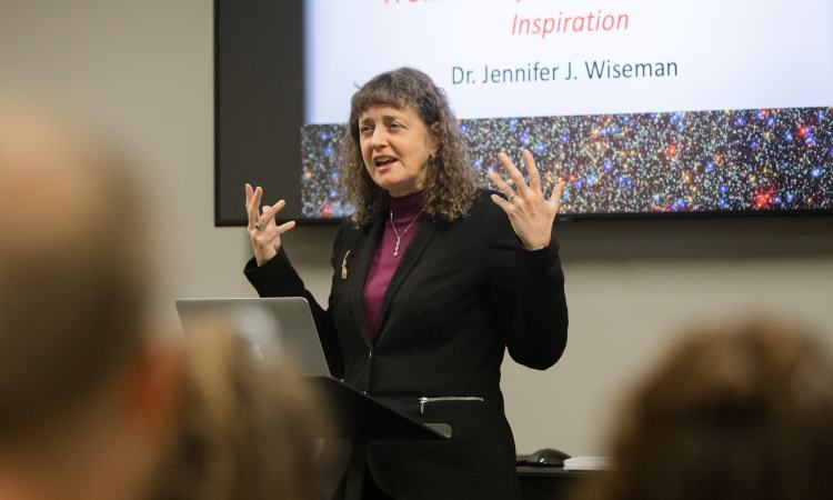 Jennifer Wiseman: A Universe of Awe, Challenge, and Inspiration