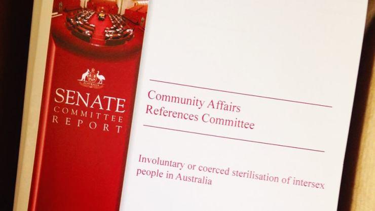 Informe del Senado de Australia