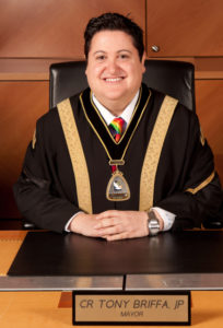 Councillor Tony Briffa, JP - Mayor