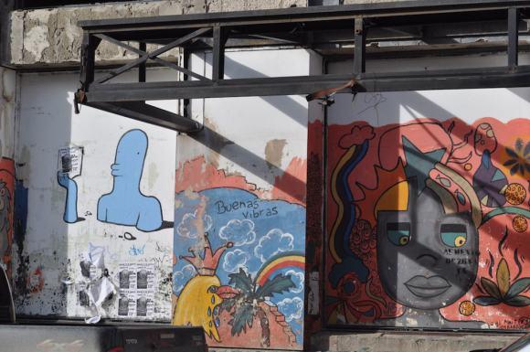 grafiti in Ushuaia