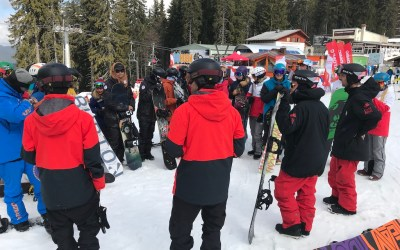 CASI Snowboarding On-Snow Clinic and Indoor Presentation by Canada