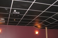 Black Ceiling Tile | Tile Design Ideas