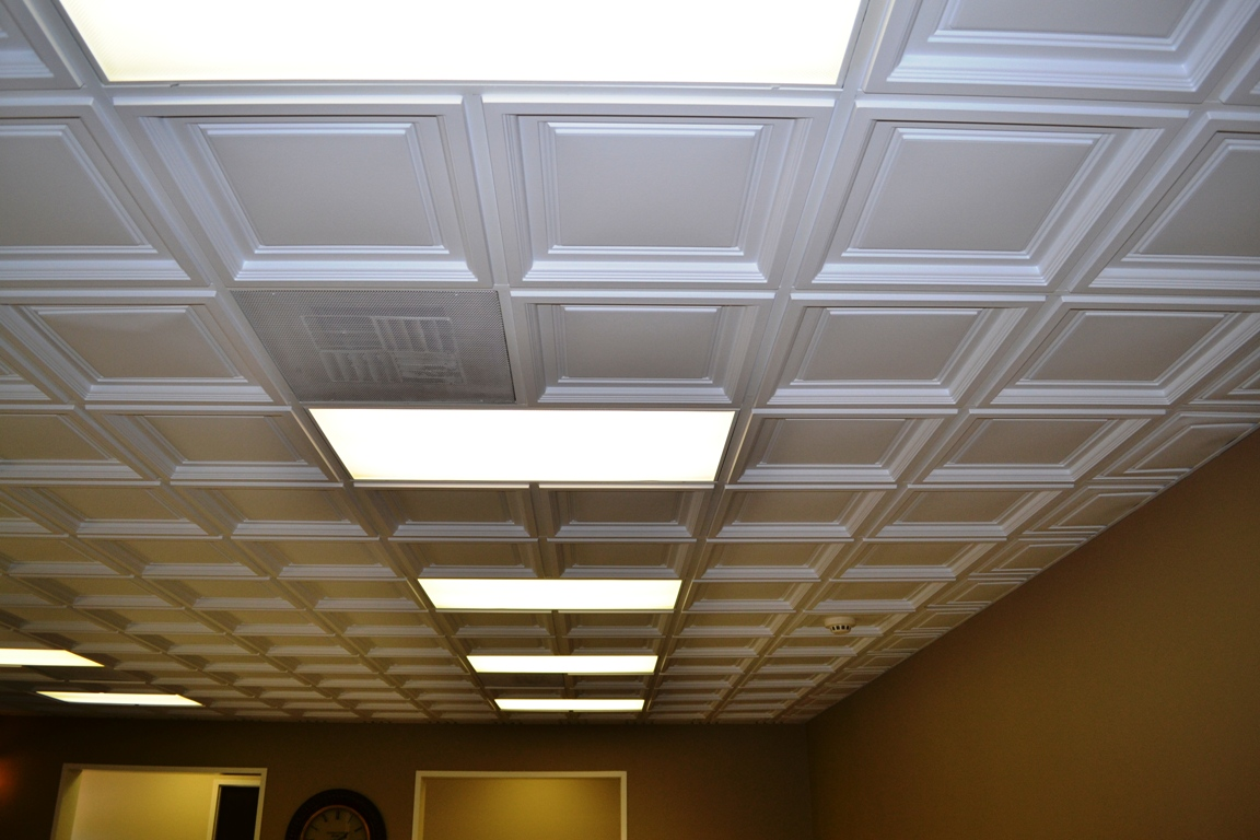 Westminster Coffered Ceiling Tile