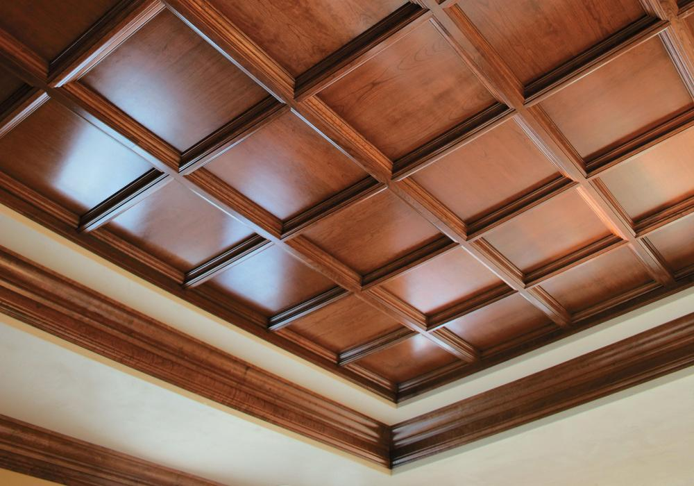 Faux Wood Ceiling Tiles