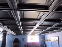 Madison Coffered Ceiling Tiles - InterSource Specialties Co.