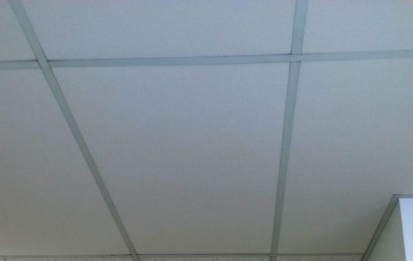Insulated Fiberglass Ceiling Tiles With Noise Absorption