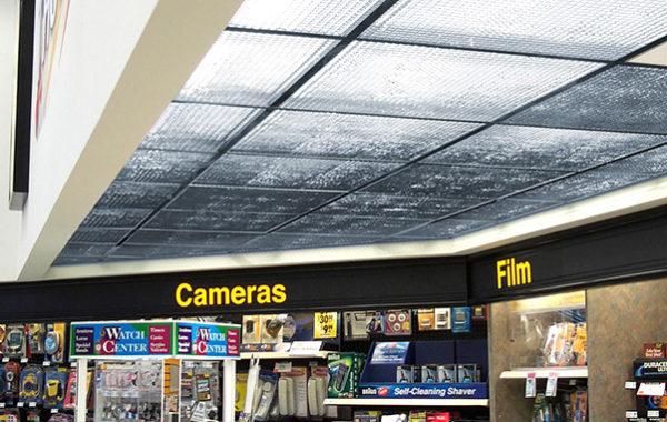 plastic eggcrate ceiling tiles white