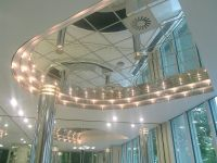 Strong Mirror Ceiling Tiles For High End Reflective
