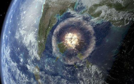 89050670 impact - Dinosaur crater's clue to origin of life
