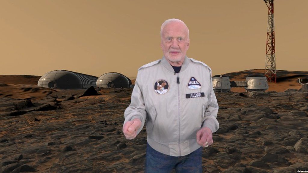 95216886 p04x7q8q - Buzz Aldrin launches VR plan to get humans to Mars