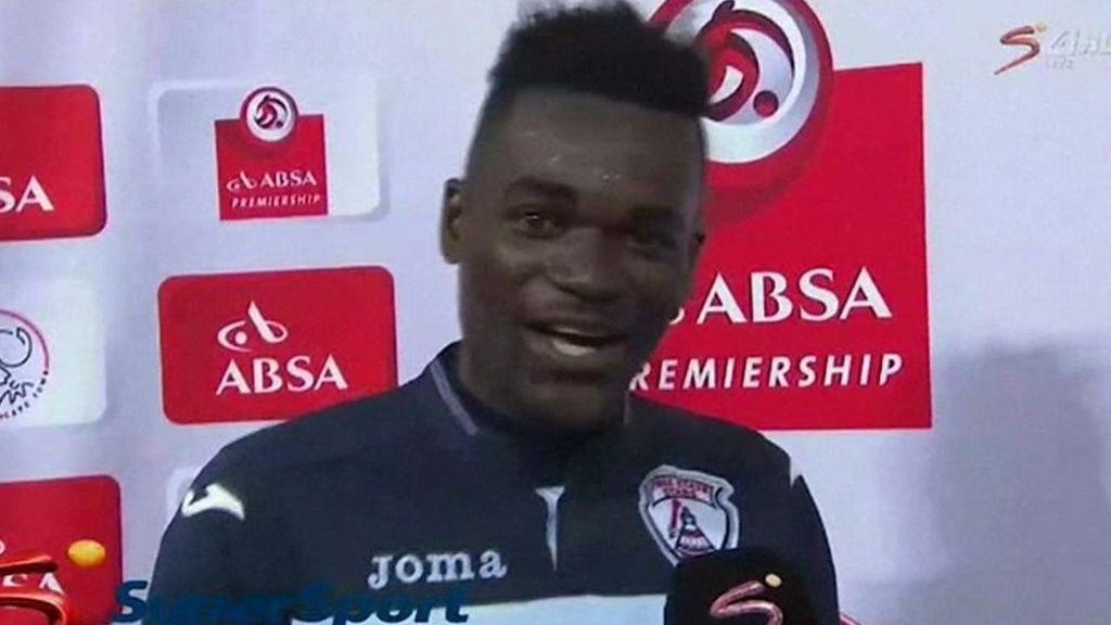 95242341 p04xhgjf - Footballer makes wife and 'girlfriend' speech blunder