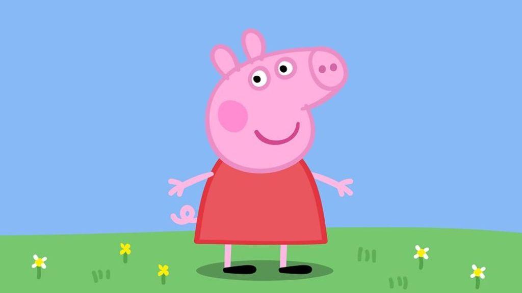95242981 p04xftb4 - Peppa Pig star Harley Bird on 10 years oinking