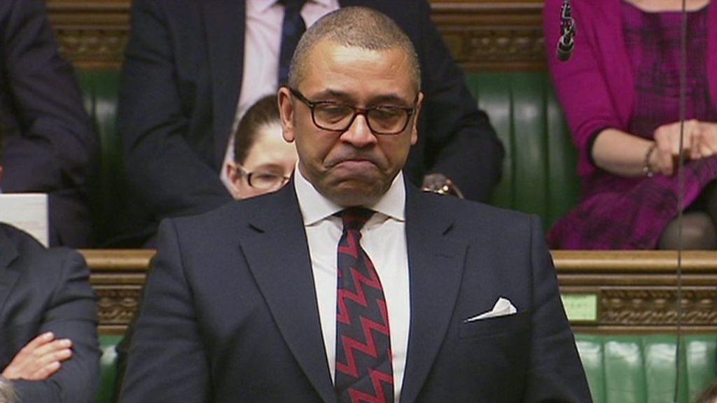 95284537 p04xrljh - MP James Cleverly pays tribute to PC Keith Palmer