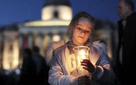 95295352 hi038648476 - London attack: Trafalgar Square vigil for people to 'express solidarity'
