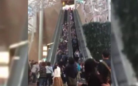 95320888 p04y2954 - Hong Kong escalator malfunction: Two men arrested