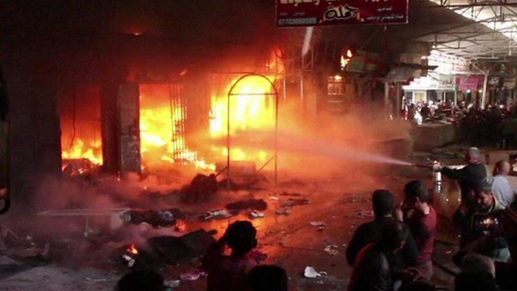 95326322 p04y435x - 'Two dead' in Mosul market attack in Iraq