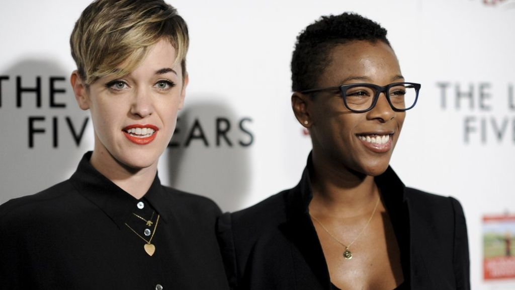 95329028 morelli wiley ap - Orange is the New Black: Samira Wiley and Lauren Morelli tie the knot