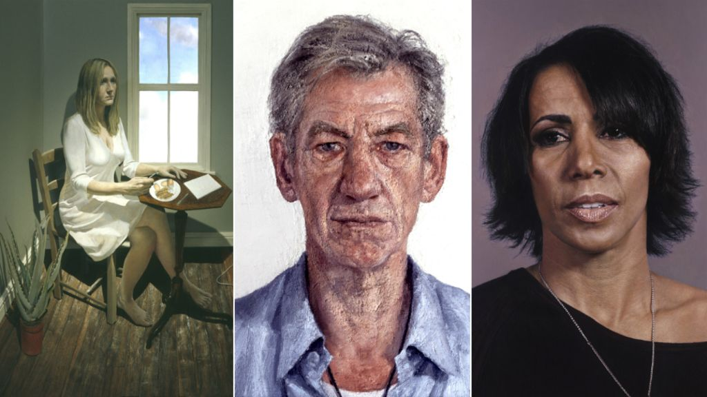 95336234 portraits - J.K. Rowling and Ian McKellen feature in Hull portrait exhibition