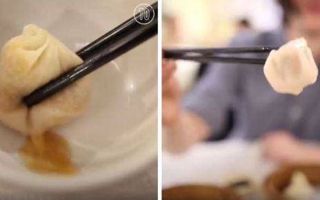 95387719 capture2 - 'Exploding' soup dumpling video angers Asian foodies