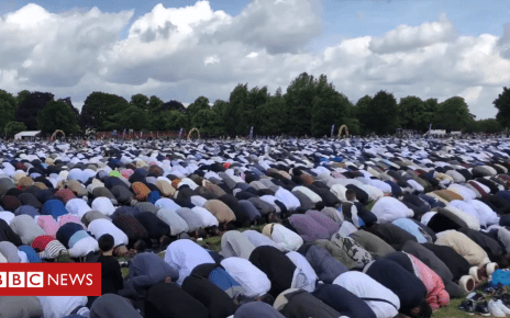 102038687 capture1 - Record-breaking crowds at Europe's largest Eid celebration