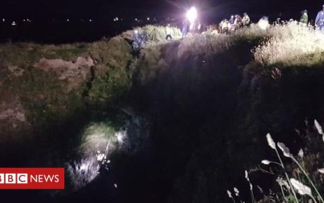102074505 2capture - Boy falls 80ft down Cornish coastal blowhole