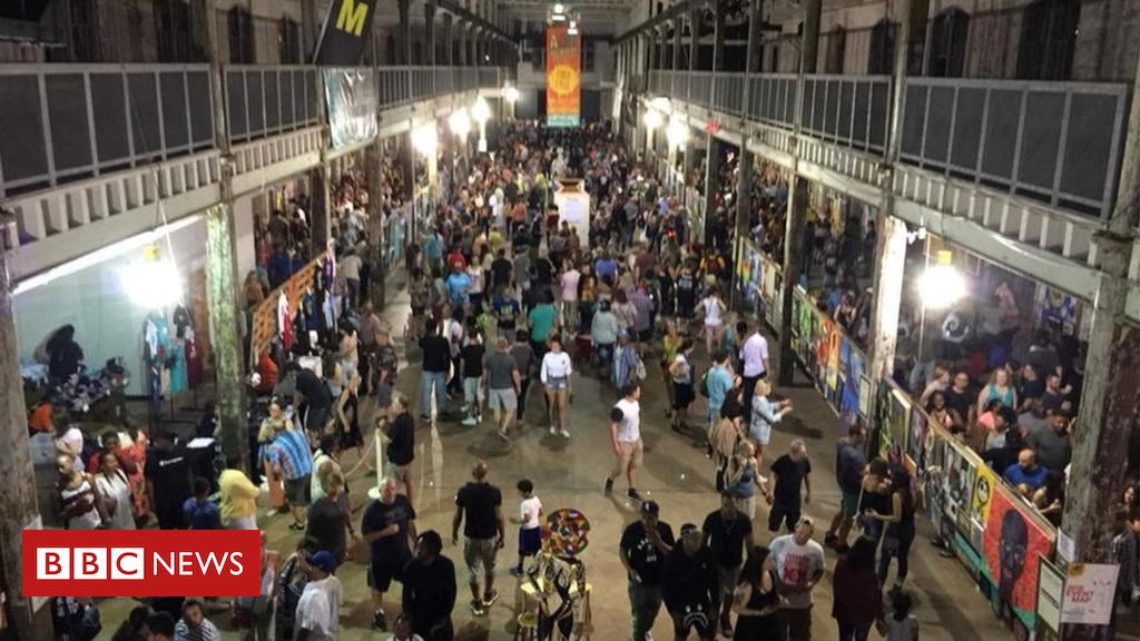102084689 mediaitem102084688 - New Jersey arts festival: One shooter dead, 20 injured