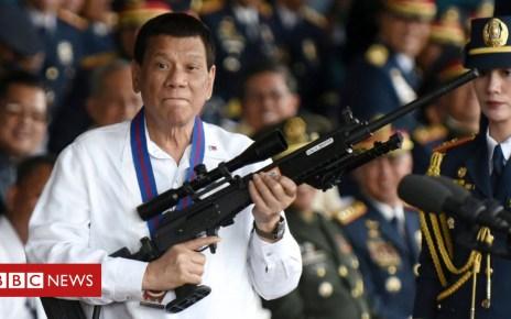 102202743 8f7e7c79 bfba 4243 b9dc 25ff32e40726 - Philippine President Duterte calls God 'stupid'
