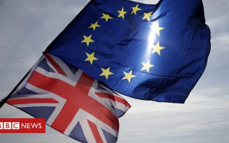 102219042 flags - Brexit: Businesses and unions call for urgency