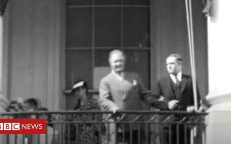102233273 p06c7n5m - Why this 1935 footage of FDR is so unusual