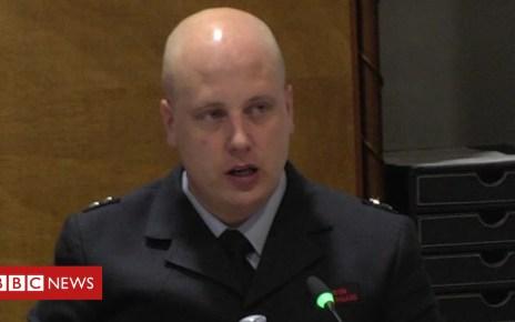 102244746 mediaitem102244745 - Grenfell inquiry: Firefighter 'dangled from window'