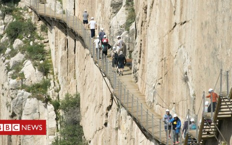 102224291 p06c6fw3 - The King's Path: Is this the scariest walk in the world?